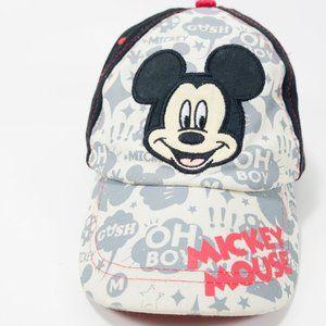 Boys Mickey Mouse Baseball Cap - 100% Cotton